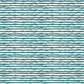 Uneven dark teal stripes