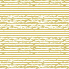Uneven yellow stripes