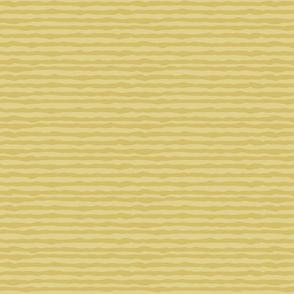 Double uneven yellow stripes