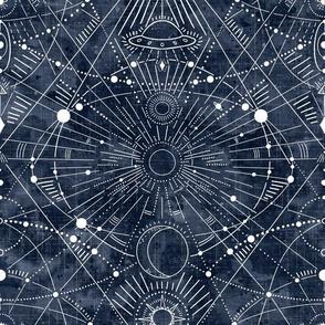 large - multidimensional space travel -indigo