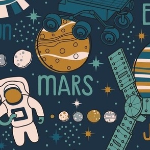 Solar System Space Race // LARGE
