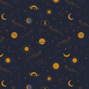 Sky Constellation Navy by Deinki SMALL