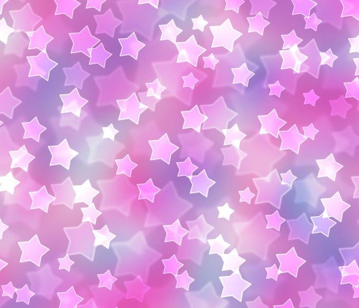 Starry Bokeh Pattern in Dreamy Nebula Color Palette