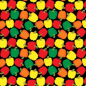 Bell Peppers - Black