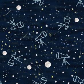 Astronomy  night sky