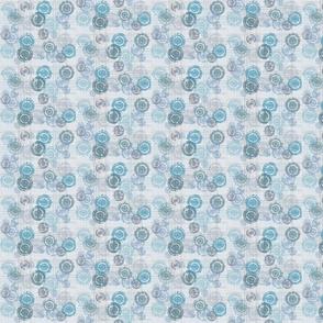 Blue & Grey Splotches