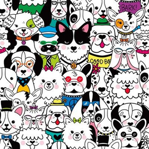 Puppy Party (Color)