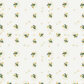 Tropical Chaos green Tucans