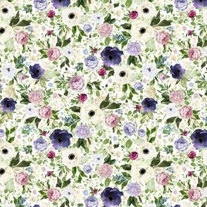 "4"" Royal Western Loose Florals"