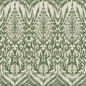 Tribal Abstract (Green)
