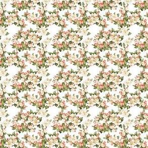 Hudson Floral White | Small Print | Dollhouse