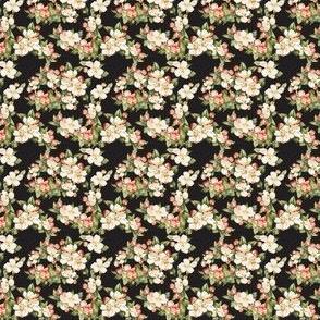 Hudson Floral Black | Small Print | Dollhouse