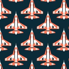 Jets - Navy and Orange