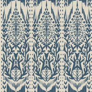 Tribal Abstract 2 (Blue)