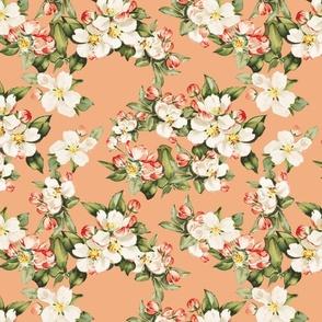Hudson Floral in Peach