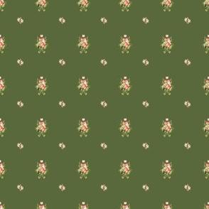 Hudson Emblem Dark Green | Small Print | Dollhouse