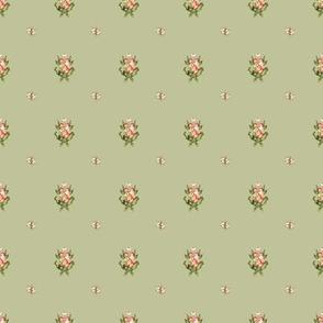Hudson Emblem Green | Small Print | Dollhouse