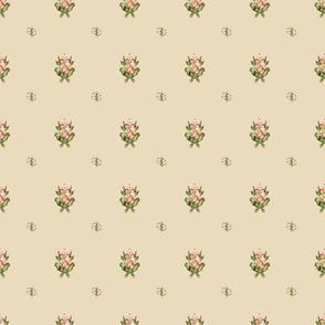 Hudson Emblem Beige | Small Print | Dollhouse