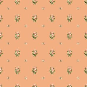 Hudson Emblem Peach | Small Print | Dollhouse