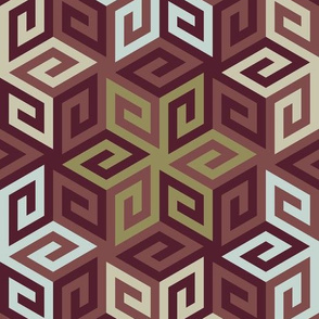 11517814 : greek cube : herizpalette