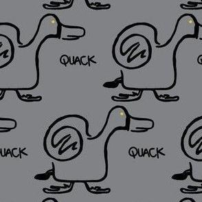 Quack Attack (light grey)