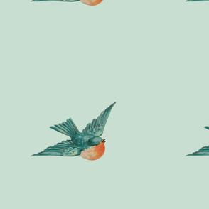 Vintage Birds 4
