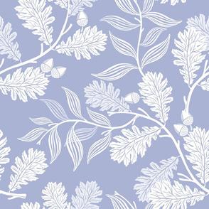 Blue Oak Leaves