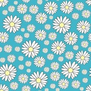 Daisy in Venus blue