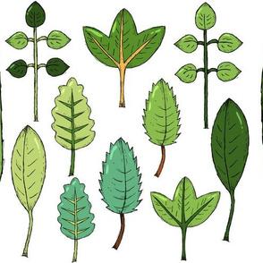 Leaves Art Table