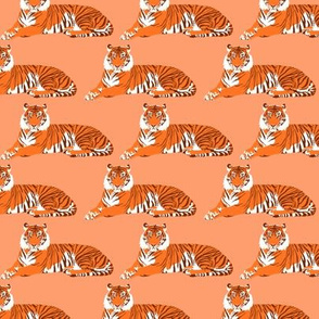 """Tigers in coral - 3"""""""