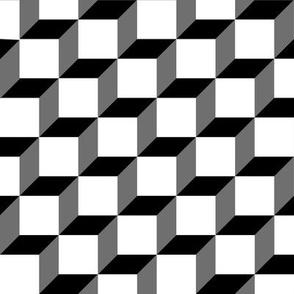 Cube Abstract Angle