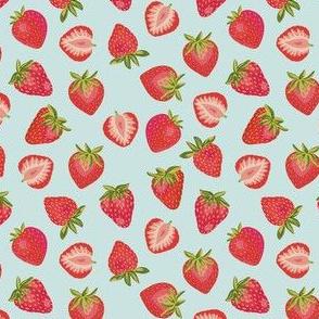 English Summer Strawberry: Mint