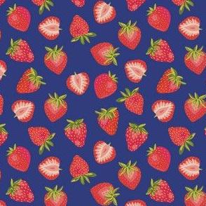 English Summer Strawberry: Royal Blue