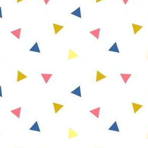 triangles with colors