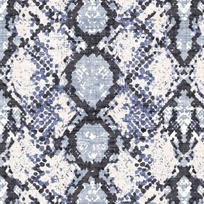 Snakeskin Blue Texture