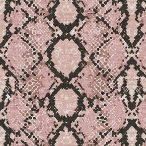 Snakeskin -  Blush Texture
