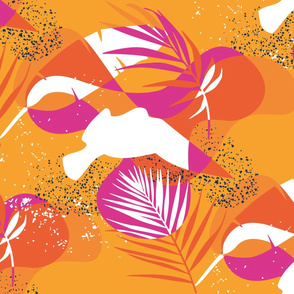 Flamingo Livingston pattern