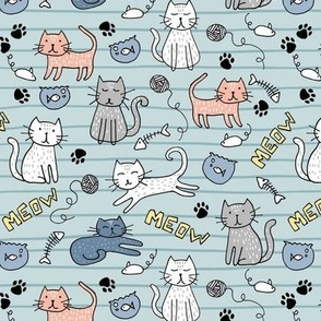 Cats stripes