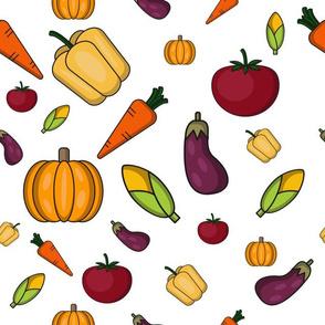 Colored Veggies