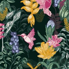 JUMBO_Midnight Floral_Multicolor