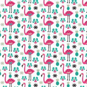Flamingo surprise pineapple