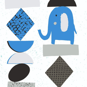 Funny elephants
