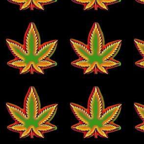 Rasta Cannabis Pot Leaf 2