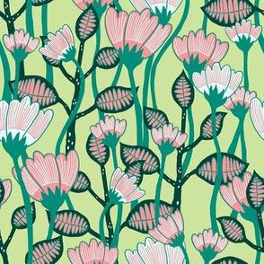 """Bloom (8"""") - lime"""