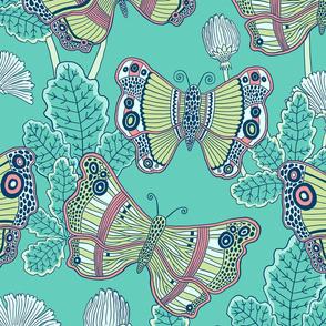 """Wings (24"""") - jade"""
