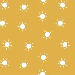 sunshine sun mustard yellow summertime
