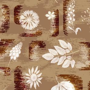 Mid-Century Modern Wildflowers