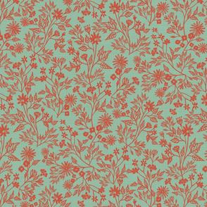 Fragrant Garden(Coral)