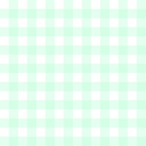 Pale Green Gingham