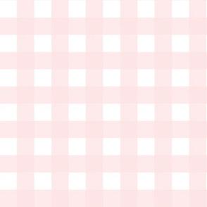 Blush Pink Gingham